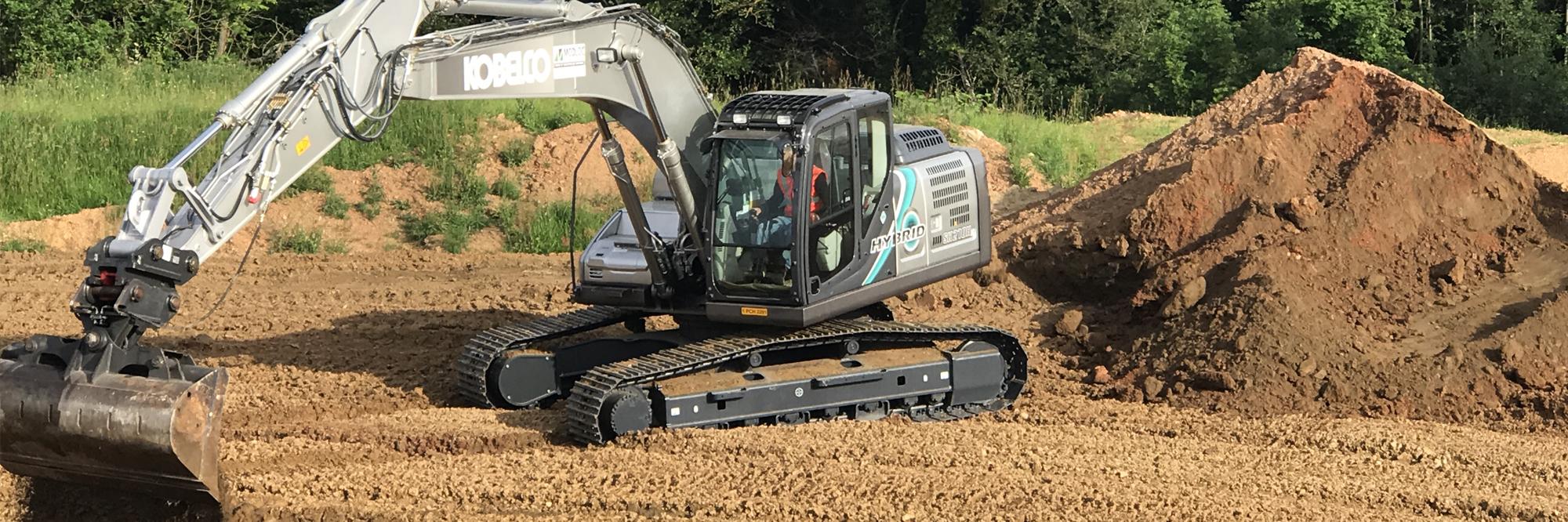 Kobelco: Intermat, nuova generazione di escavatori HYbrid_France