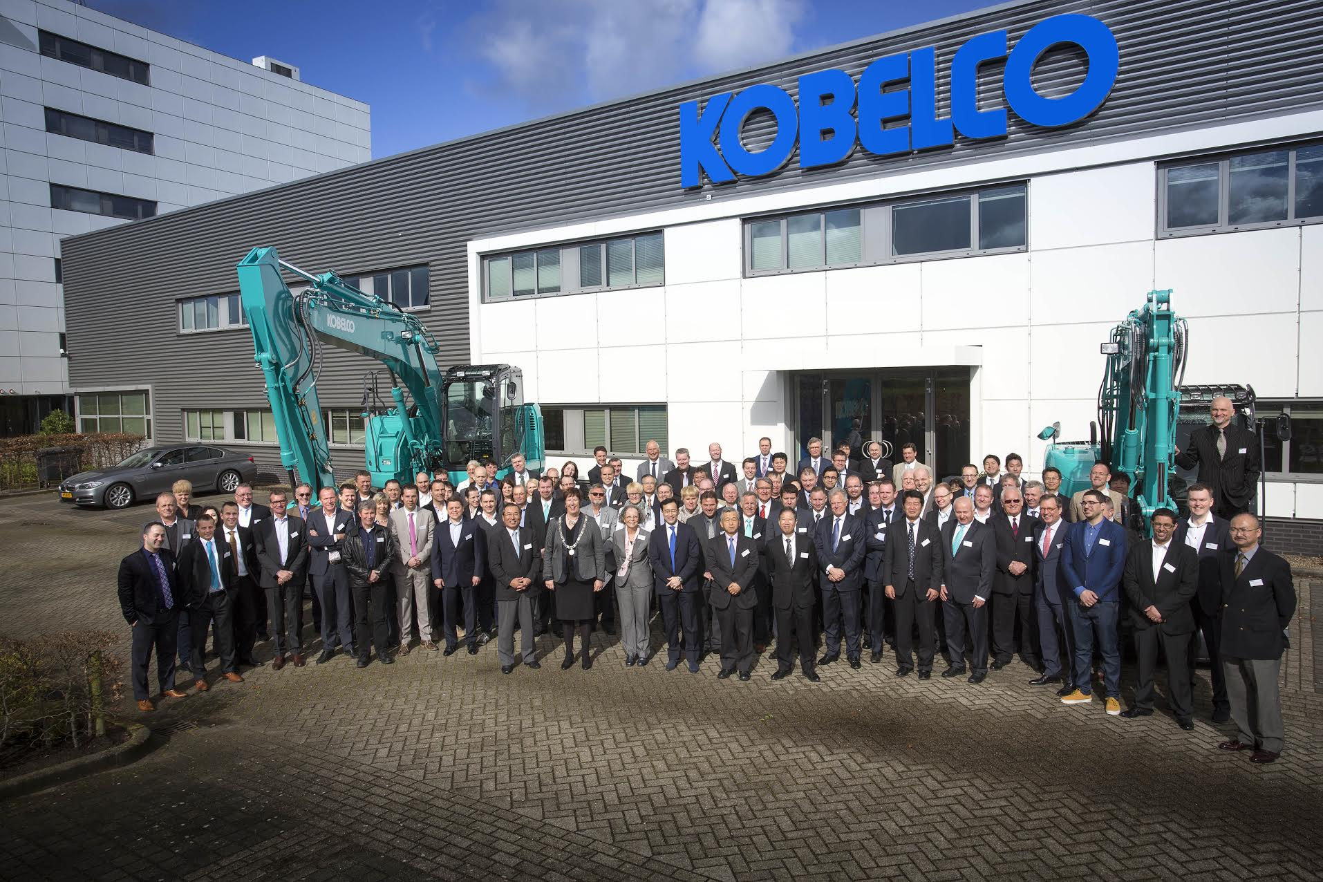 Contact us - Kobelco Construction Machinery Europe B V