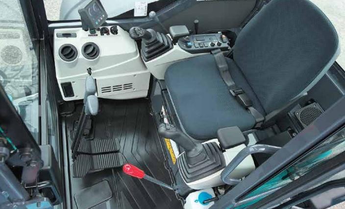 SK45 operator comfort