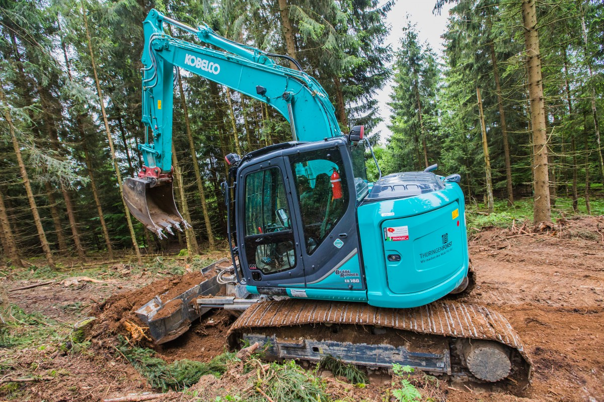 ED160-5 Blade Runner - Kobelco Construction Machinery Europe