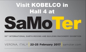 Kobelco at SaMoTer
