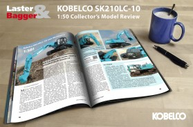 Kobelco SK210 Scale Model Review