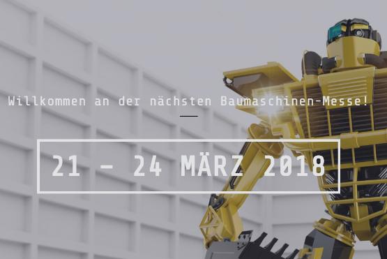 Baumaschinenmesse 2018