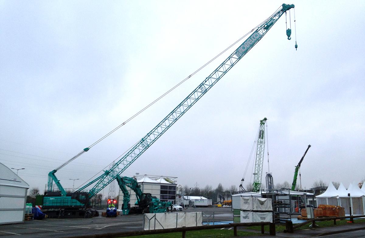 Kobelco Crane Intermat