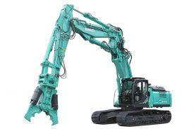SK350-10 Kobelco Demolition machine