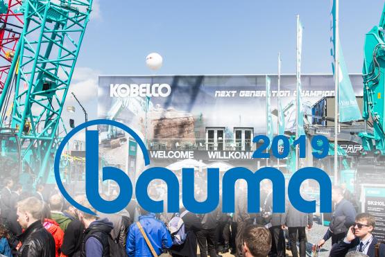 Kobelco Bauma 2019