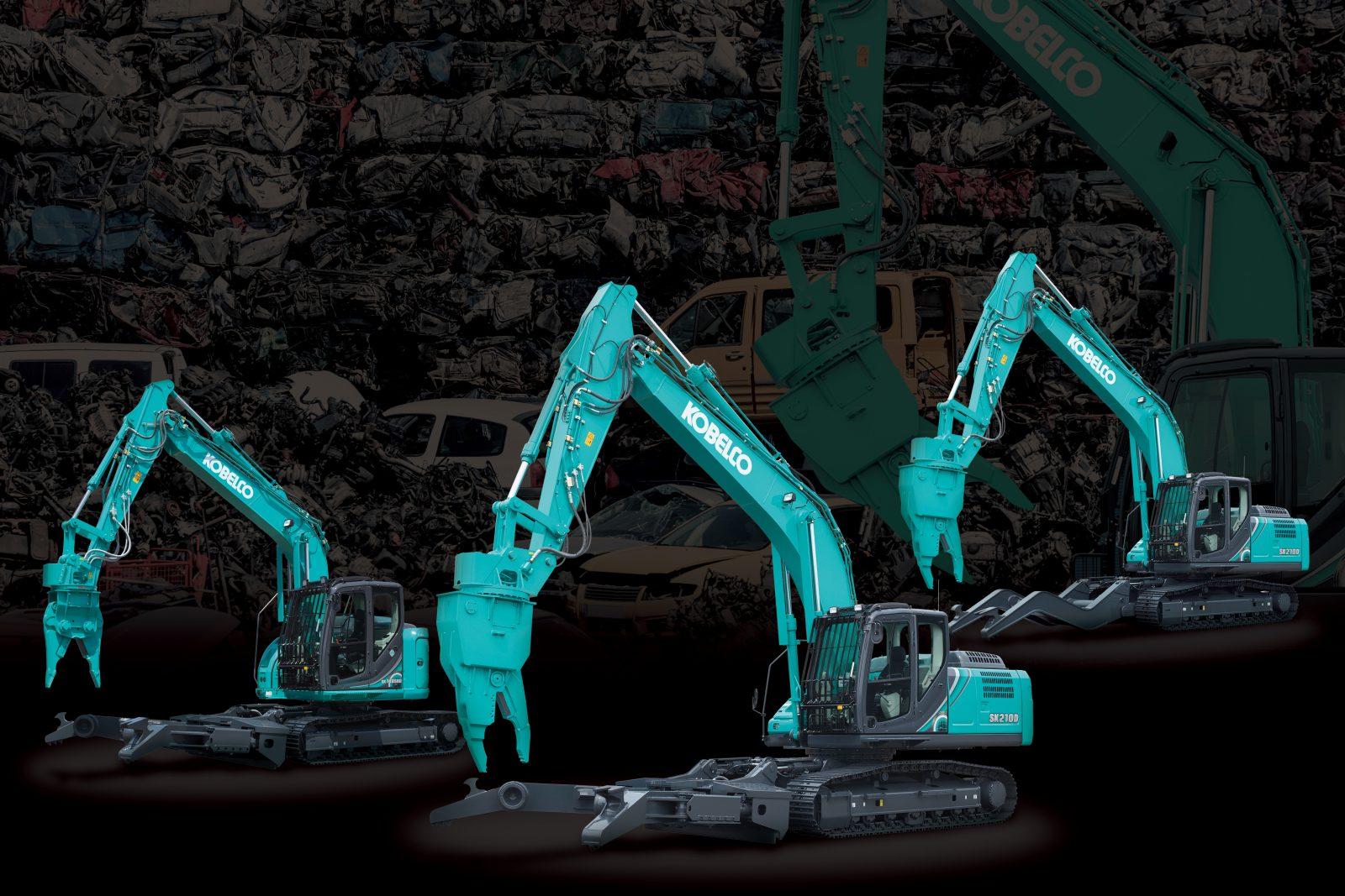 SK140SRD Kobelco dismantling range