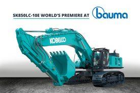 Kobelco SK850LC-10E world's premiere
