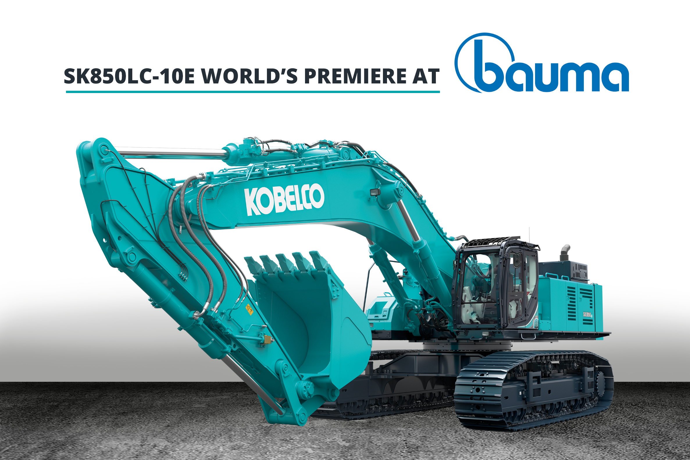 SK850LC-10E - Kobelco to launch its largest excavator in Europe