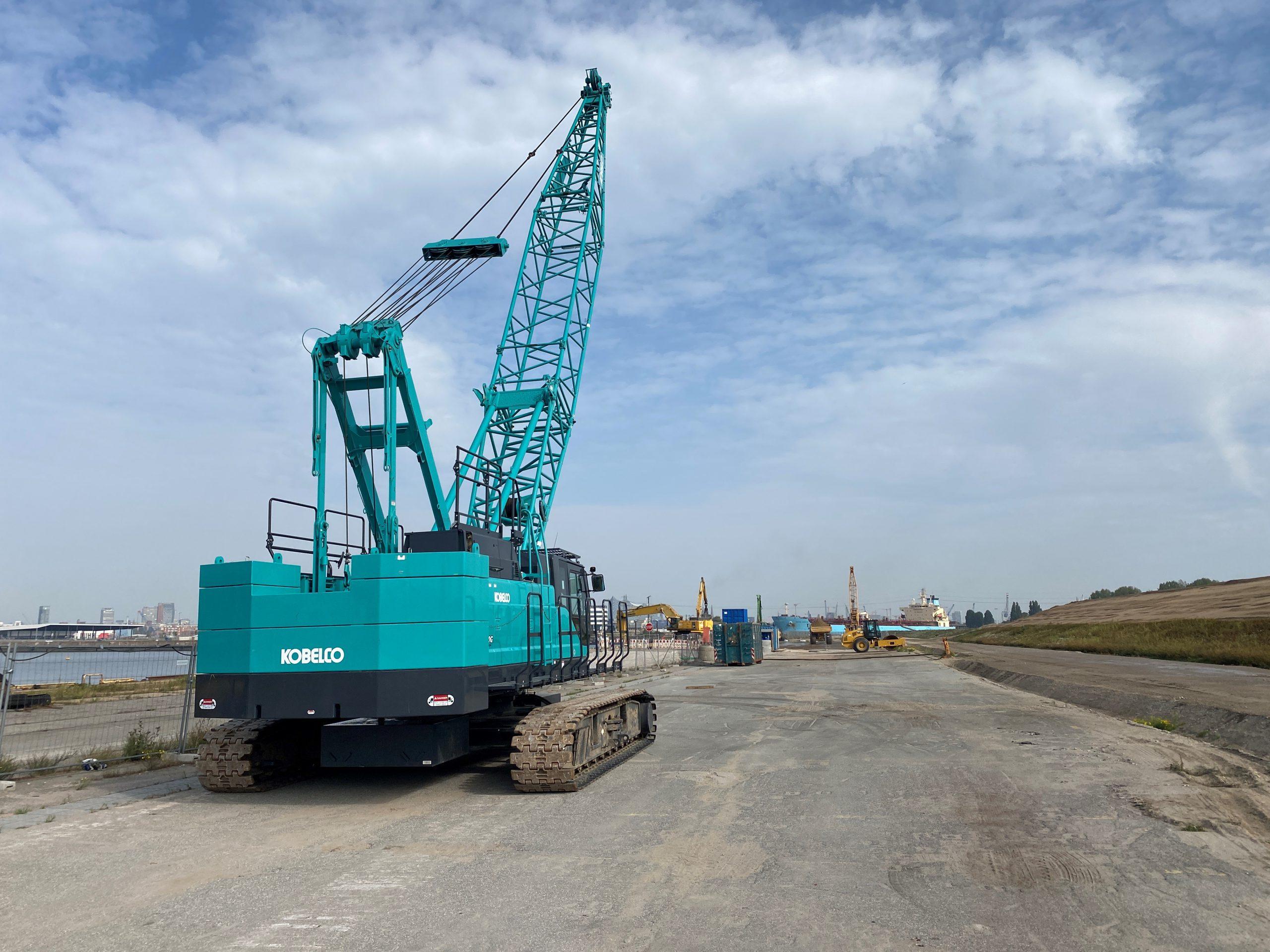 Kobelco Used Crane Finder now available at kobelco-europe.com - Kobelco Construction Machinery Europe B.V.